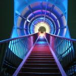 De trap naar de toekomst