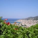 Griekenland - Samos - blik op de hoofdstad
