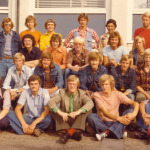 Klassefoto ETS 4e jaar 1977
