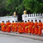 Luang Prabang-Monks