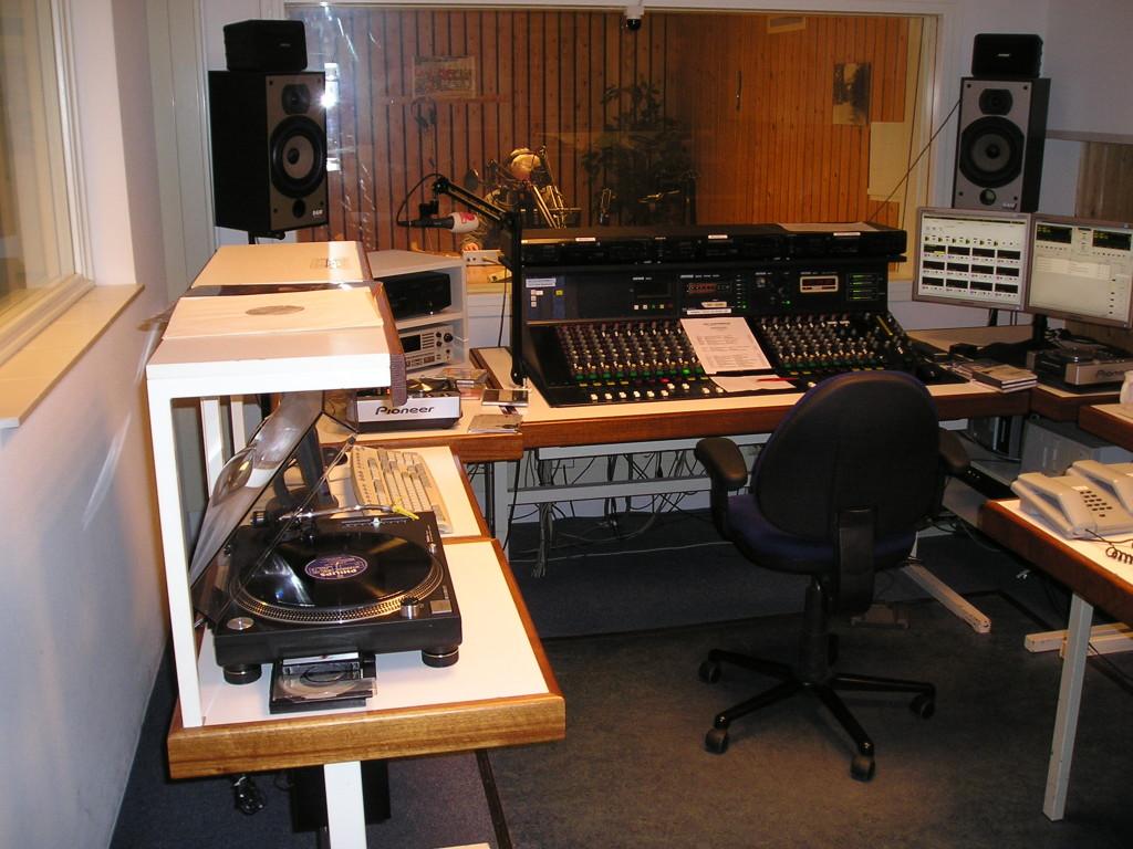 Studio 1 voor de verbouwing