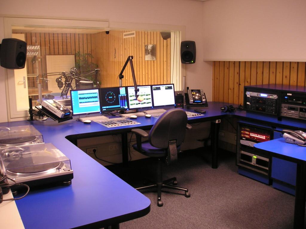 Studio 1 na de verbouwing