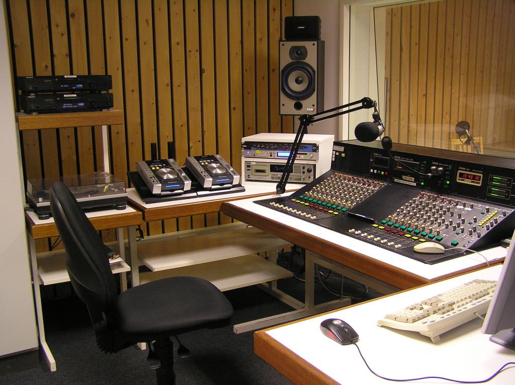 Studio 2 voor de verbouwing