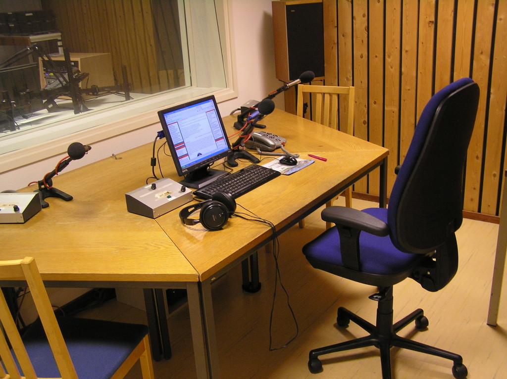 Studio 2 presentatieruimte bleef ongewijzigd