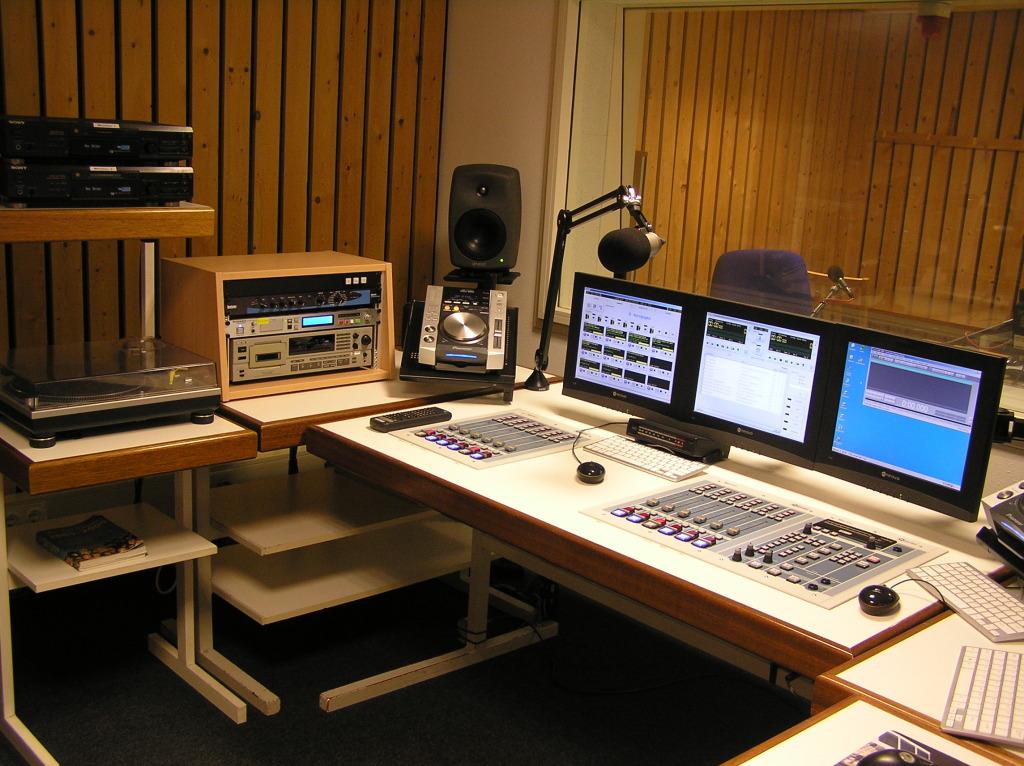 Studio 2 - techniekruimte - na de verbouwing