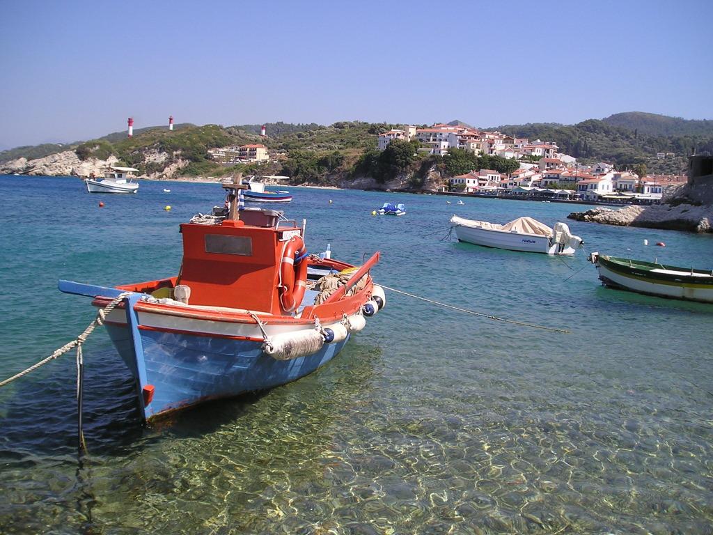 Kokkari - vissersboot
