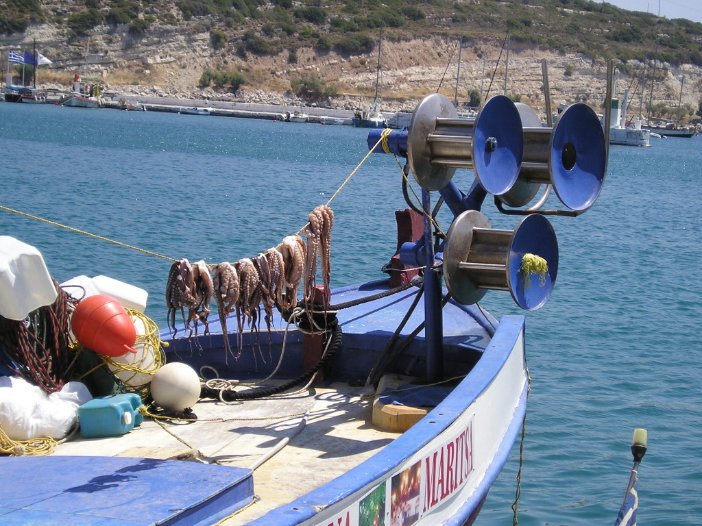 Pythagorio - vissersboot