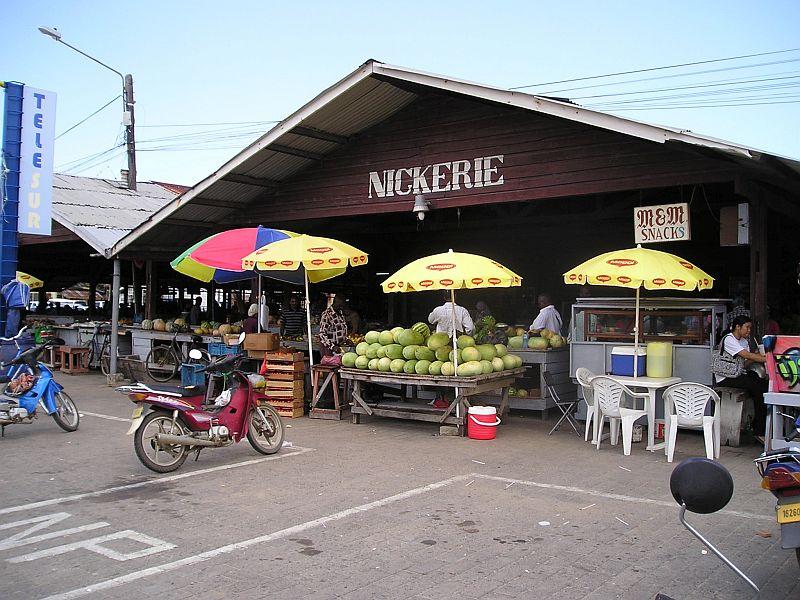 Nieuw Nickerie - markt
