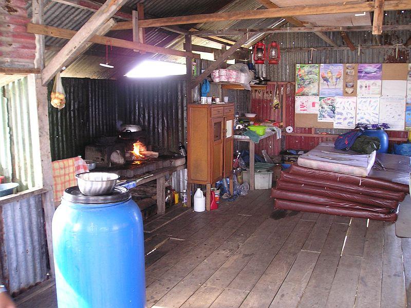 Bigi Pan - Overnachtingsplek - De keuken