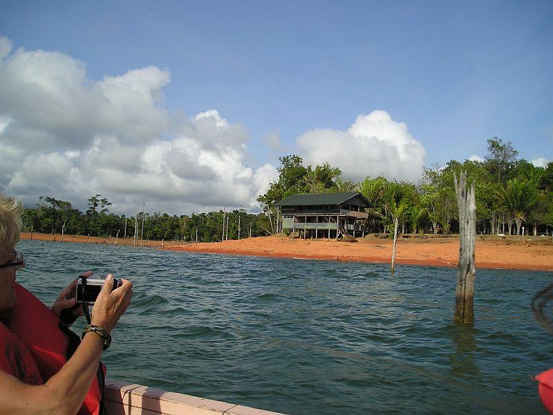 Tonka eiland - vertrek