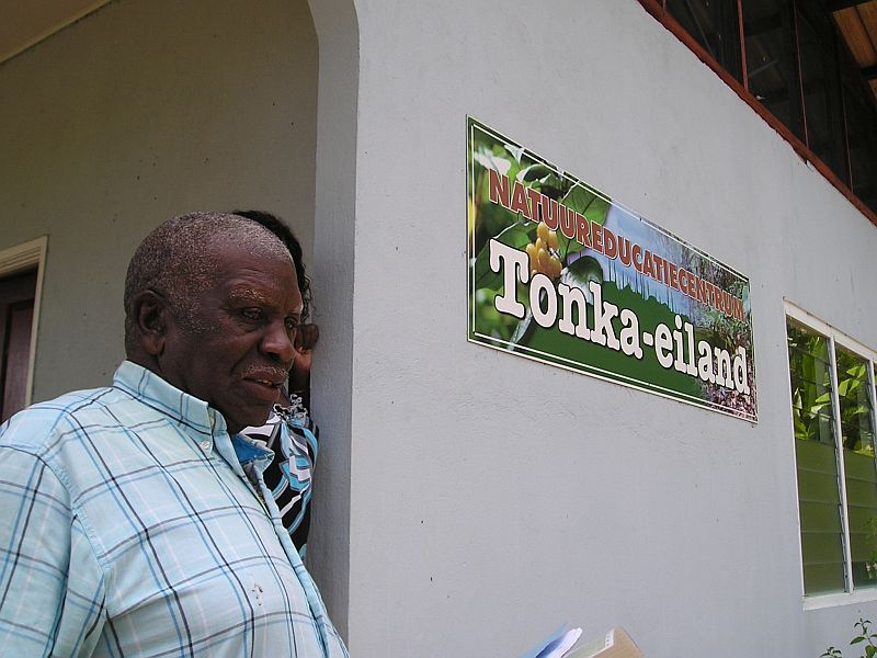 Tonka eiland - Bomenkenner Frits van Troon