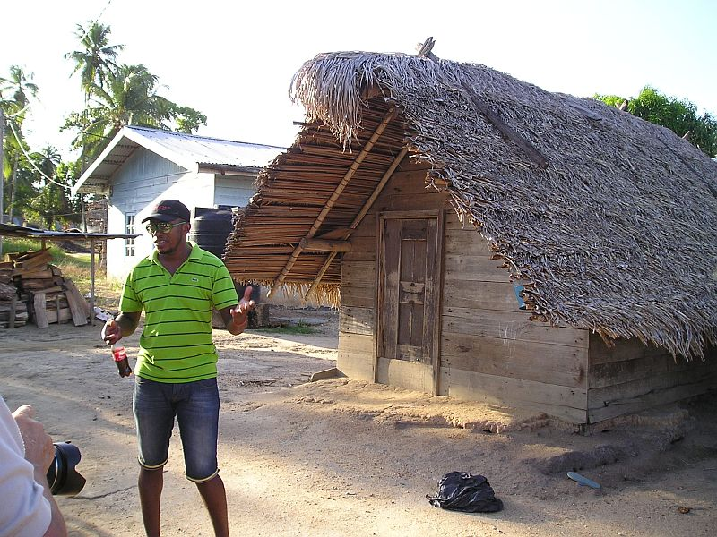 Dorp Jaw Jaw - karakteristiek huisje