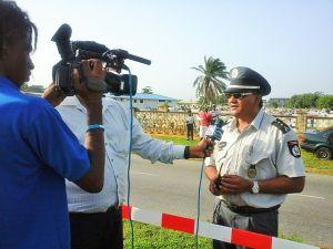 Auto crash - politie inspecteur