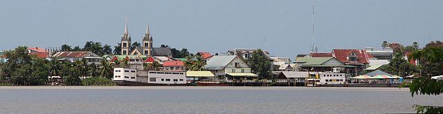 Paramaribo - Utzicht vanaf Meerzorg