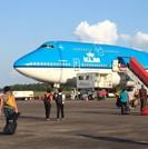 Zanderij - KLM toestel