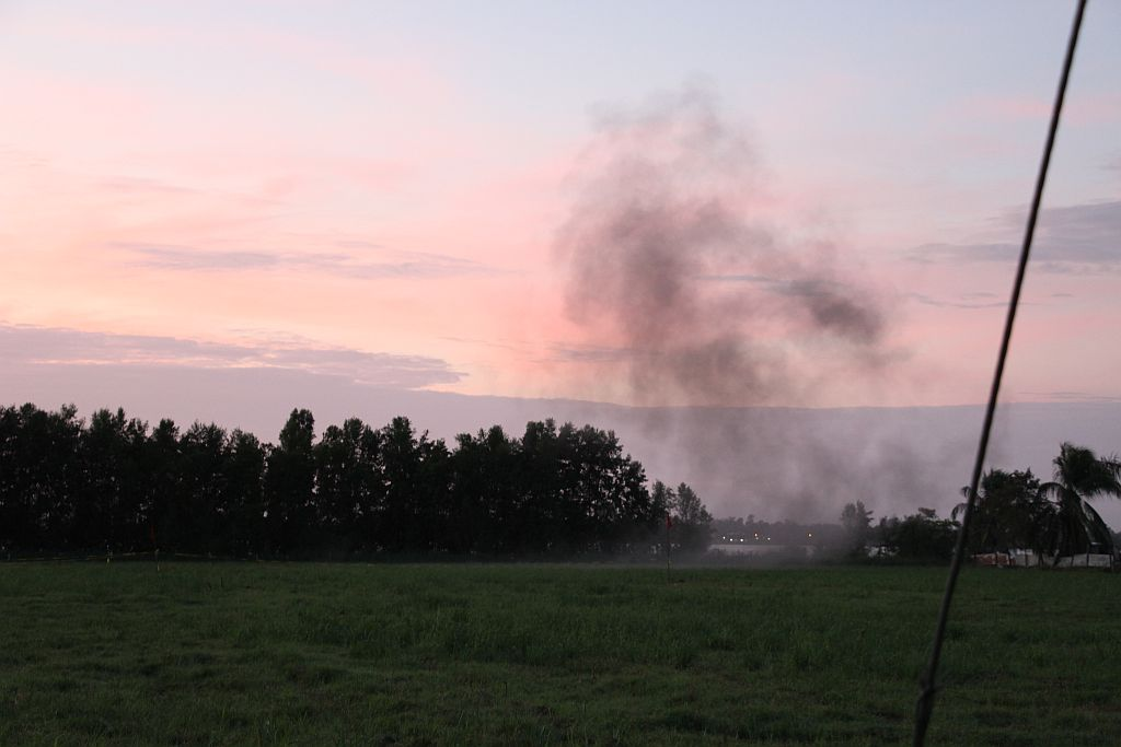 Srefidenis - 21 kanonschoten, terrein aan de Anton Dragtenweg