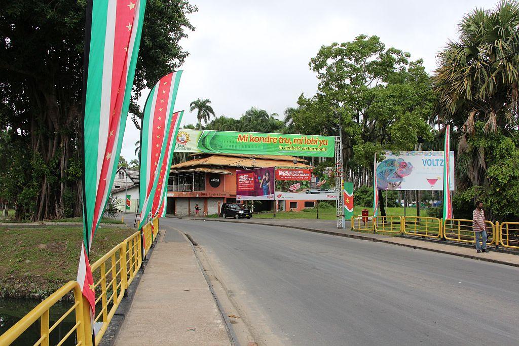 Srefidensi - 's morgens 8 uur in Paramaribo, het is nog rustig in de stad