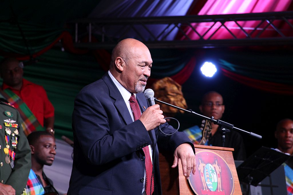 Volksreceptie in het paleis - Slottoespraak van President Bouterse