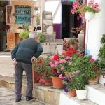 Samos - Manolates - Man kijkt
