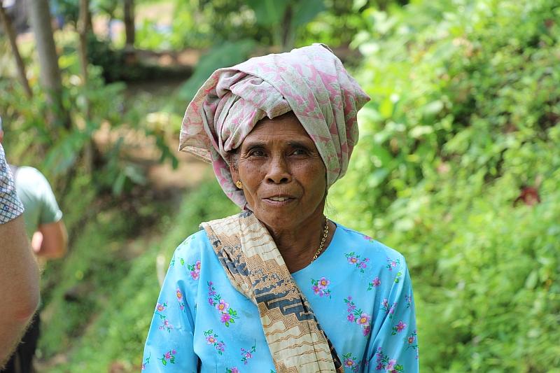 Kampung Naga - Dorpsbewoonster
