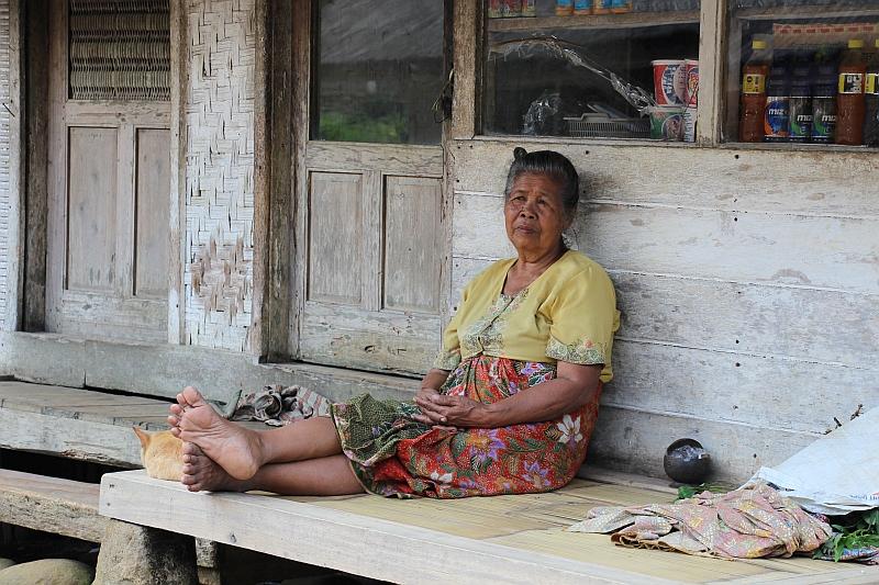 Kampung Naga - Bewoonster