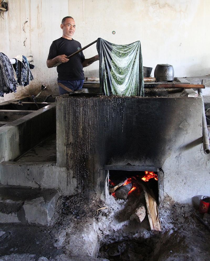 Yogyakarta - Batikfabriek
