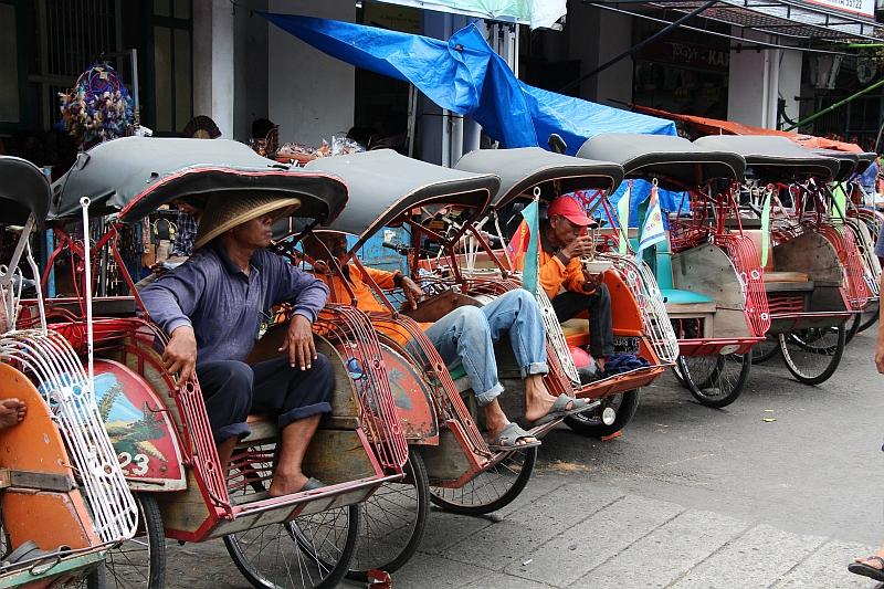 Yogyakarta - Hoofdstraat Malioboro