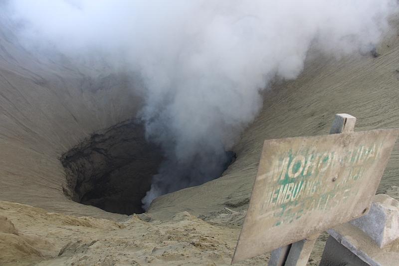 Bromo vulkaan - Krater