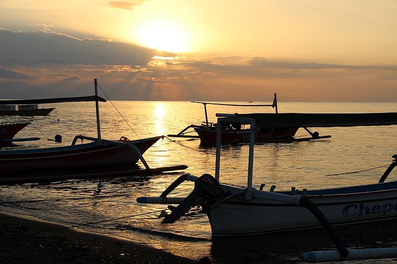 Bali - Lovina - Zonsondergang
