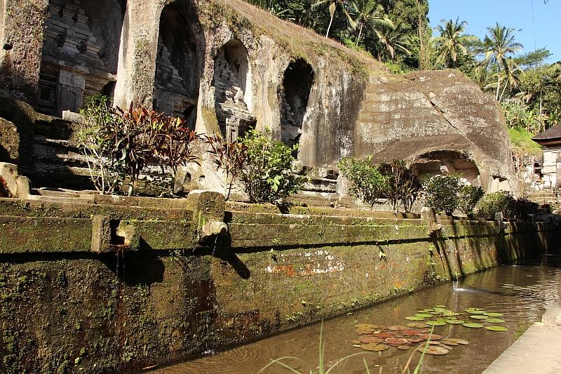 Bali - Gunung Kawi - Rotstempels