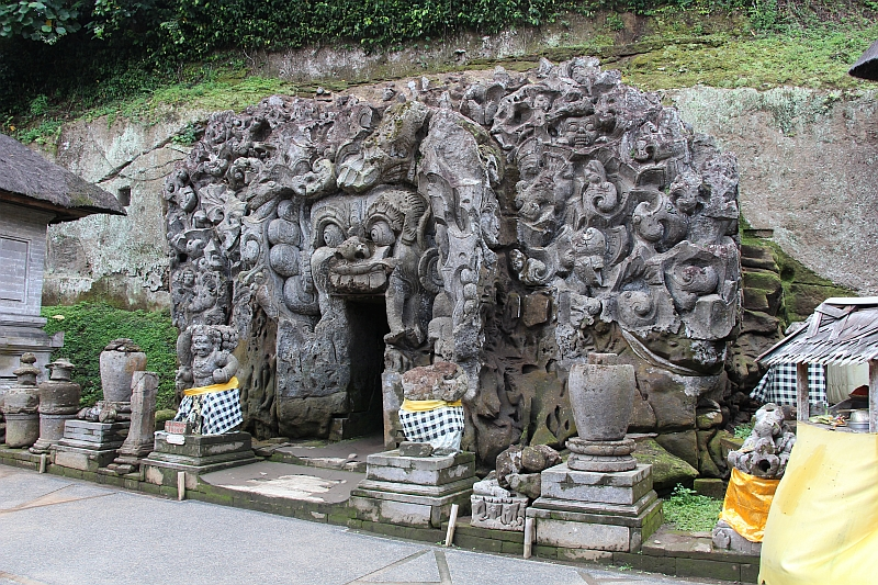 Bali - Ubud - Olifantsgrot, nabij Ubud