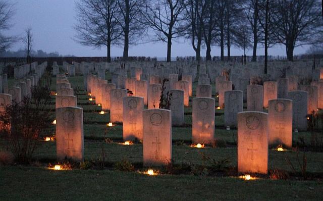 Canadese begraafplaats 25 dec 2016