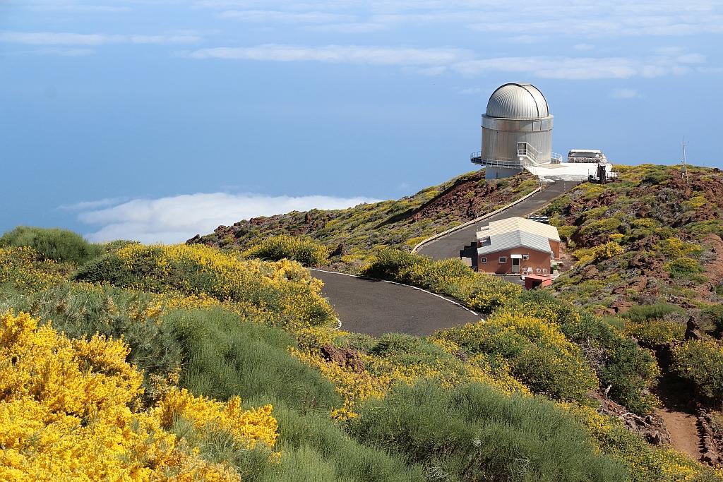 Observatorium bij Rogue de los Muchachos