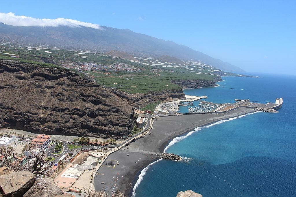 Blik op Puerto de Tazacorte