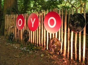 'Oyo' de tent van de Mixed Media Lounge