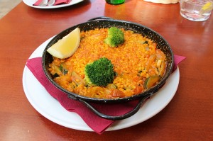 Paella in Malaga